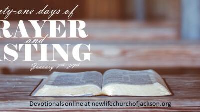 21 Days of Prayer & Fasting Devotionals