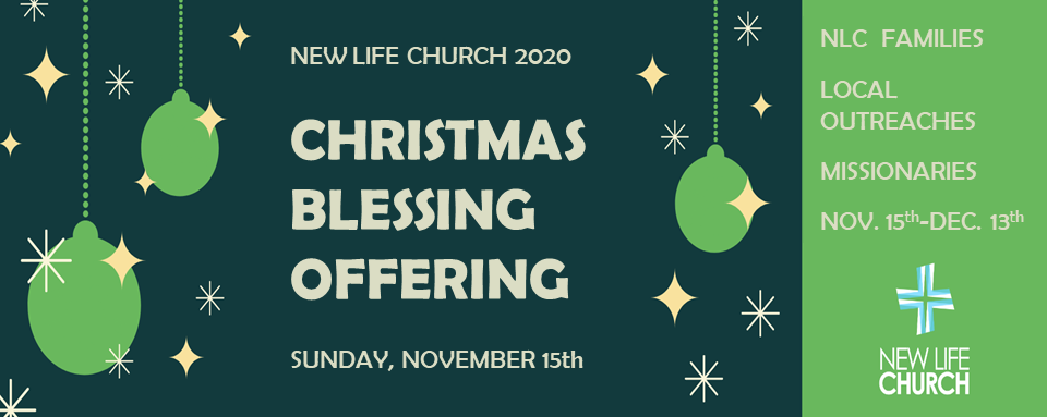 Christmas Blessing Offering